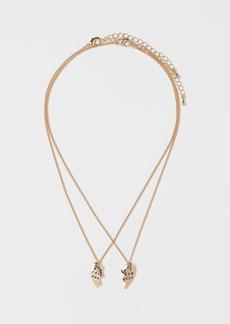 H&M H & M - BFF Necklaces - Gold