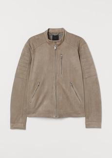 H&M H & M - Biker Jacket - Beige