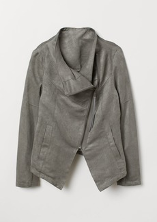 H&M H & M - Biker Jacket - Gray