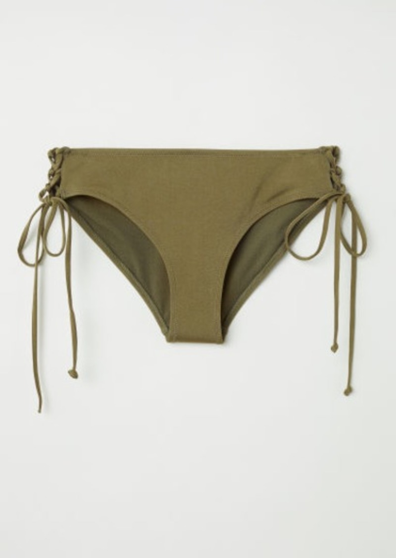 H M H M Bikini Bottoms Green