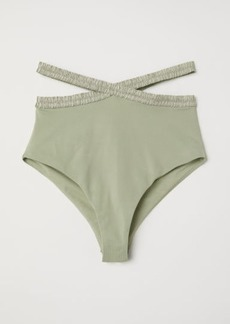 H&M H & M - Bikini Bottoms High waist - Green
