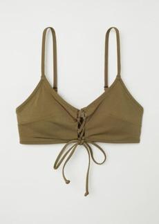 H&M H & M - Bikini Top - Green