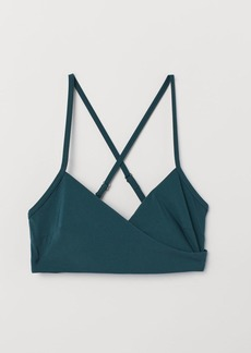 H&M H & M - Bikini Top - Turquoise