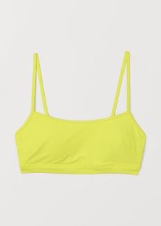 H&M H & M - Bikini Top - Yellow