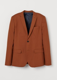 H&M H & M - Skinny Fit Blazer - Beige