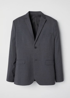 H&M H & M - Blazer Slim fit - Gray