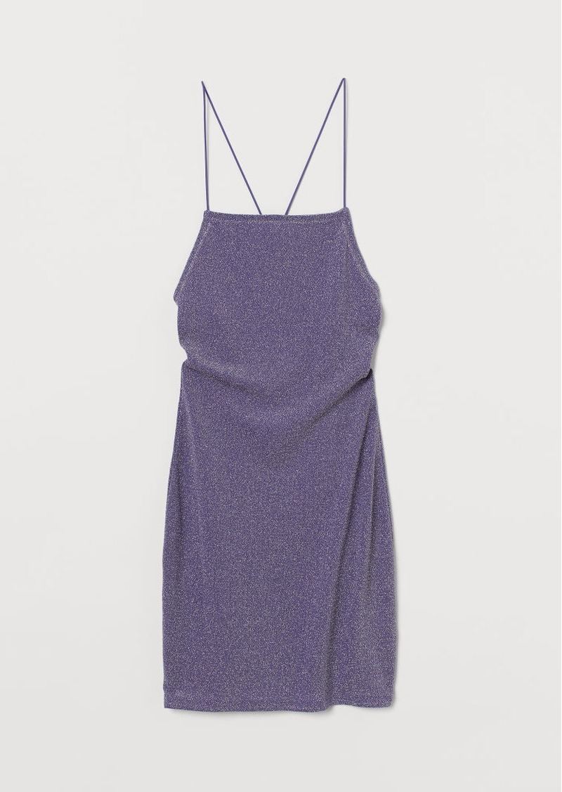 H & M - Bodycon Dress - Purple