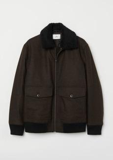H&M H & M - Bomber Jacket - Brown