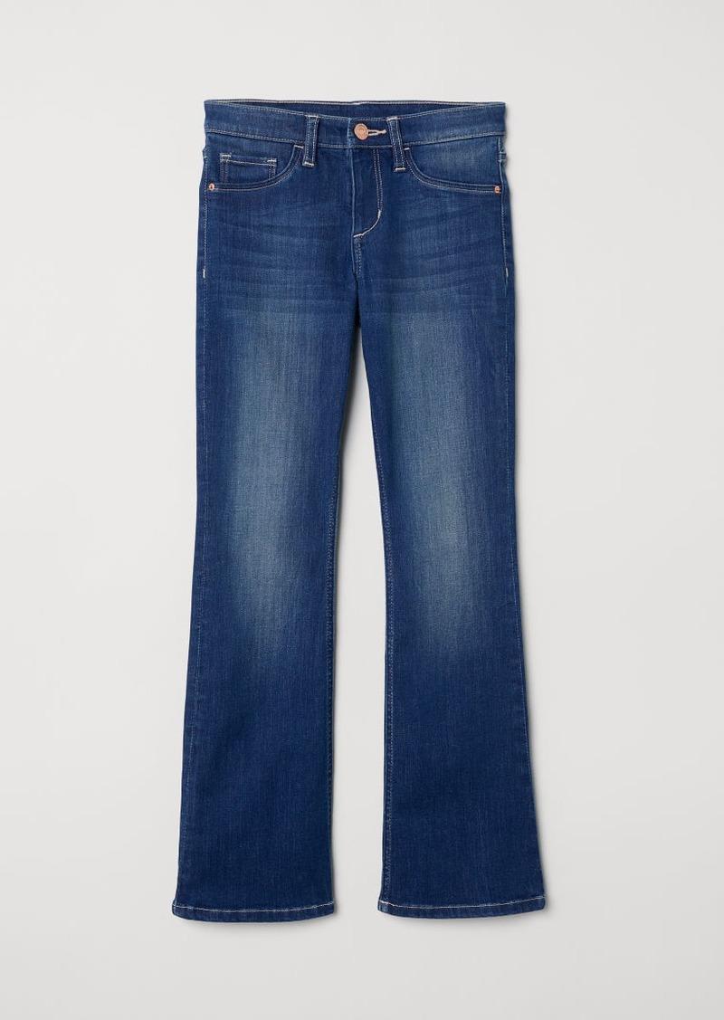 H&M H & M - Bootcut Jeans - Blue