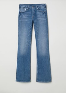 H&M H & M - Bootcut Regular Jeans - Blue