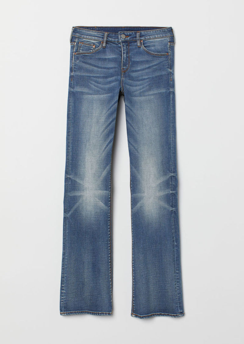 H&M H & M - Bootcut Regular Jeans - Blue