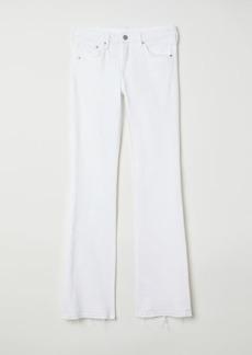 H&M H & M - Bootcut Regular Jeans - White