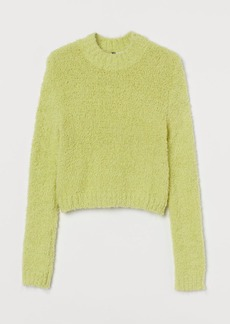 H&M H & M - Bouclé Sweater - Green