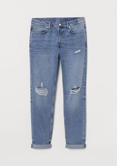 H&M H & M - Boyfriend Low Jeans - Blue