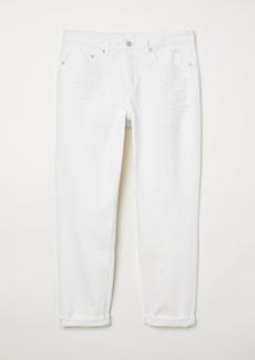 H&M H & M - Boyfriend Low Jeans - White