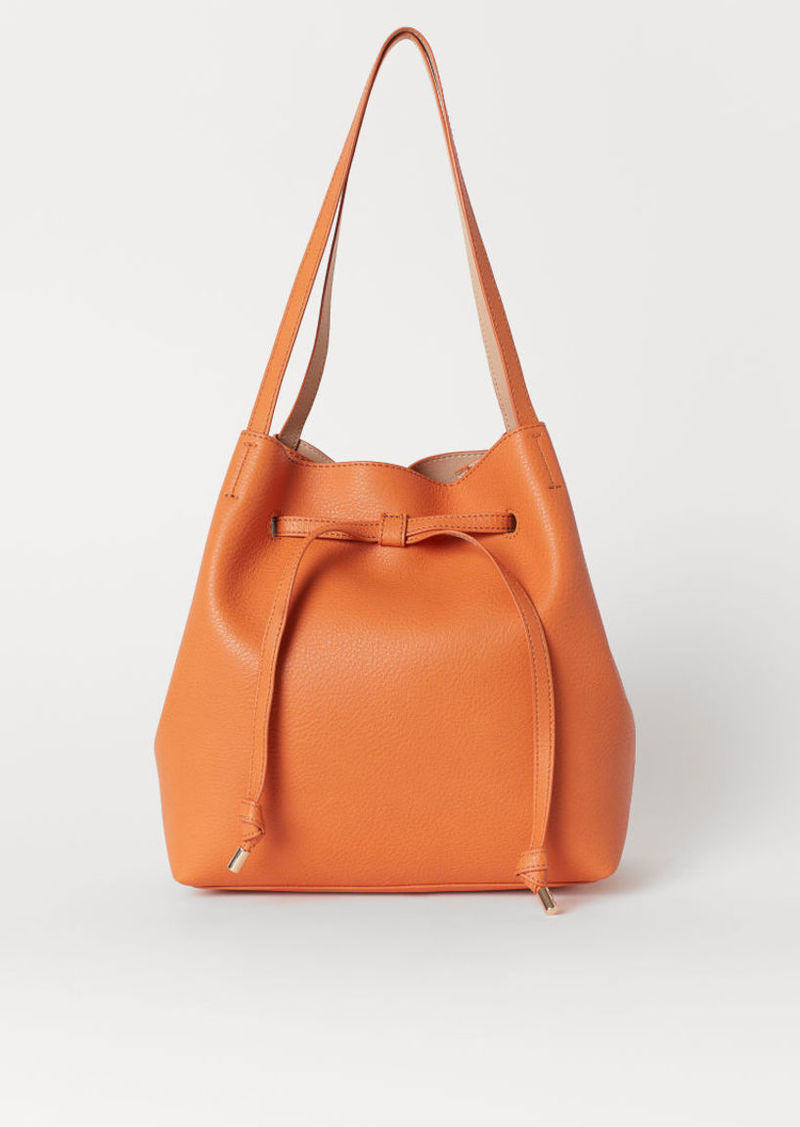 H&M H & M - Bucket Bag - Orange