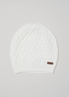 H&M H & M - Cable-knit Hat - White