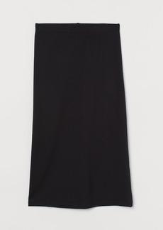 H&M H & M - Calf-length Skirt - Black