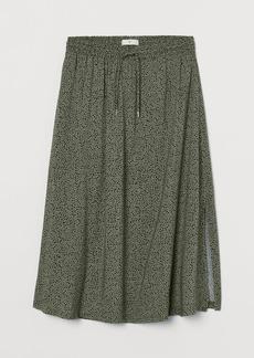 H&M H & M - Calf-length Skirt - Green