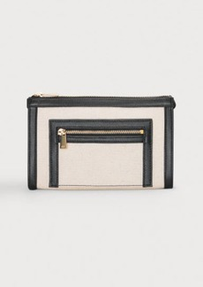 H&M H & M - Canvas Makeup Bag - White
