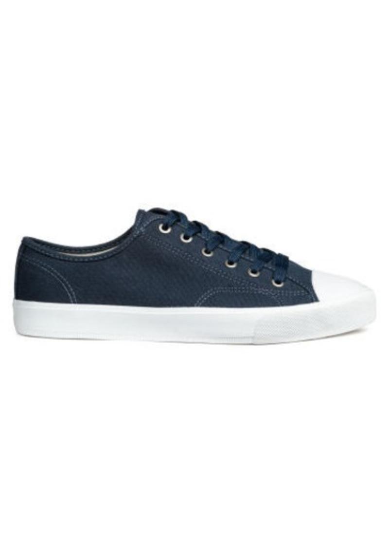 H\u0026M H \u0026 M - Canvas Shoes - Blue | Shoes