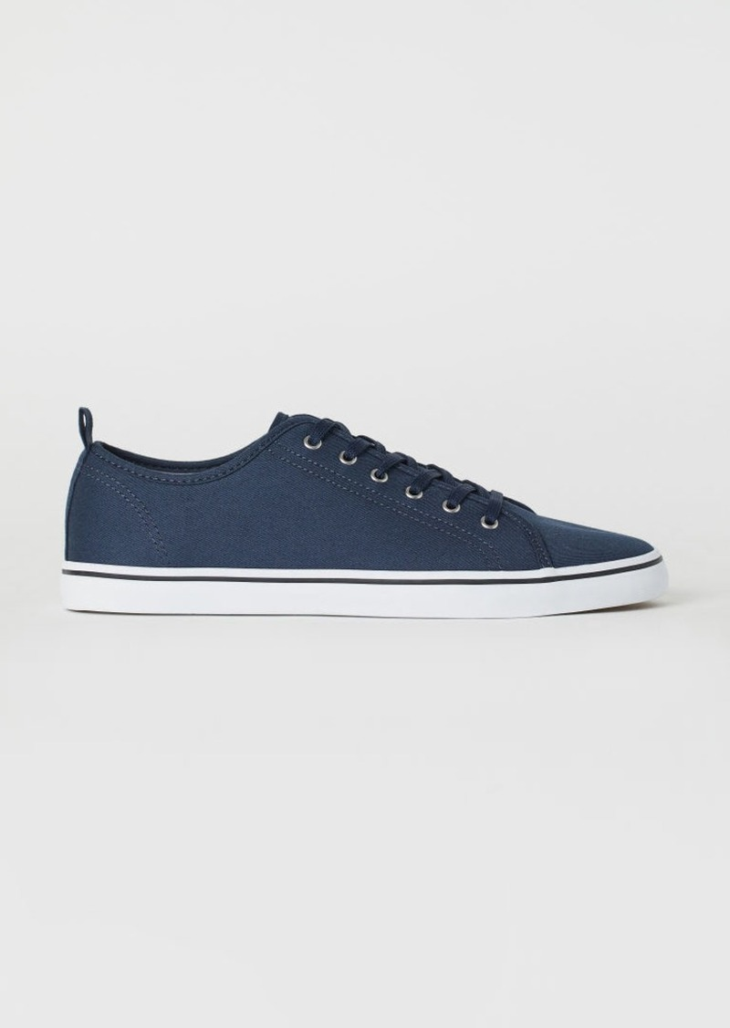 H&M H & M - Canvas Sneakers - Blue