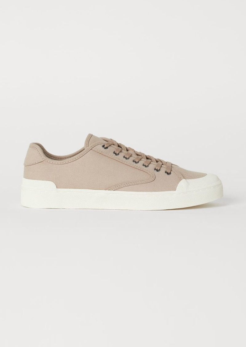 H&M H & M - Canvas Sneakers - Brown