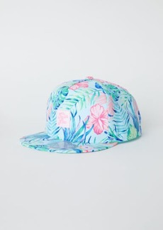 H&M H & M - Cap with Motif - Turquoise