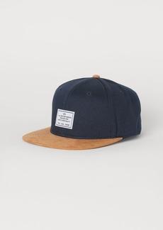 H&M H & M - Cap with Appliqué - Blue