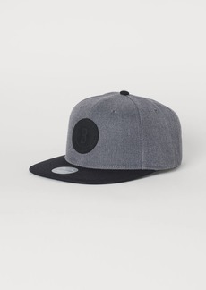 H&M H & M - Cap with Appliqué - Gray