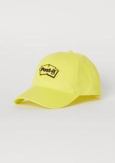 H&M H & M - Cap with Appliqué - Yellow