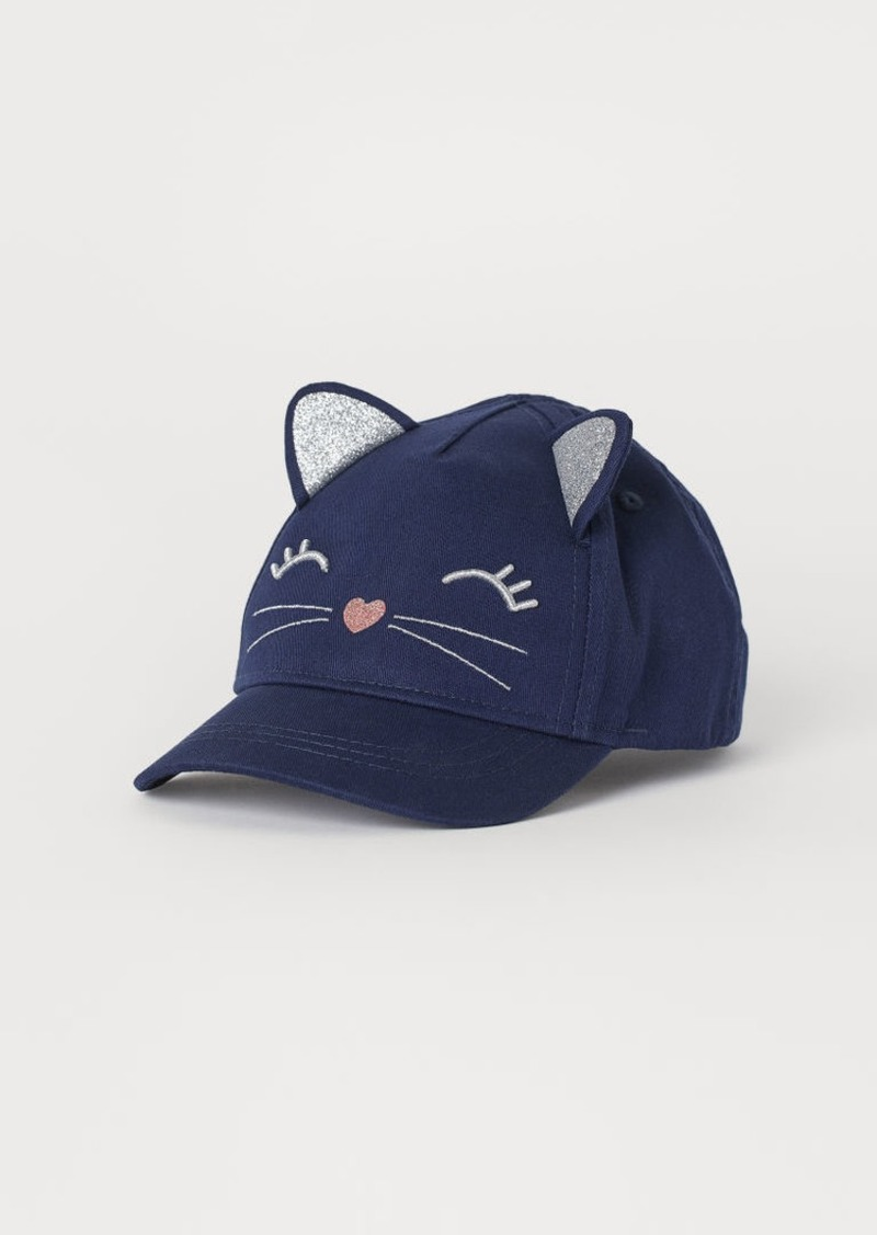 H&M H & M - Cap with Ears - Blue