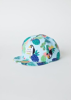 H&M H & M - Cap with Glittery Visor - Turquoise
