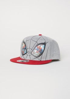H&M H & M - Cap with Motif - Gray