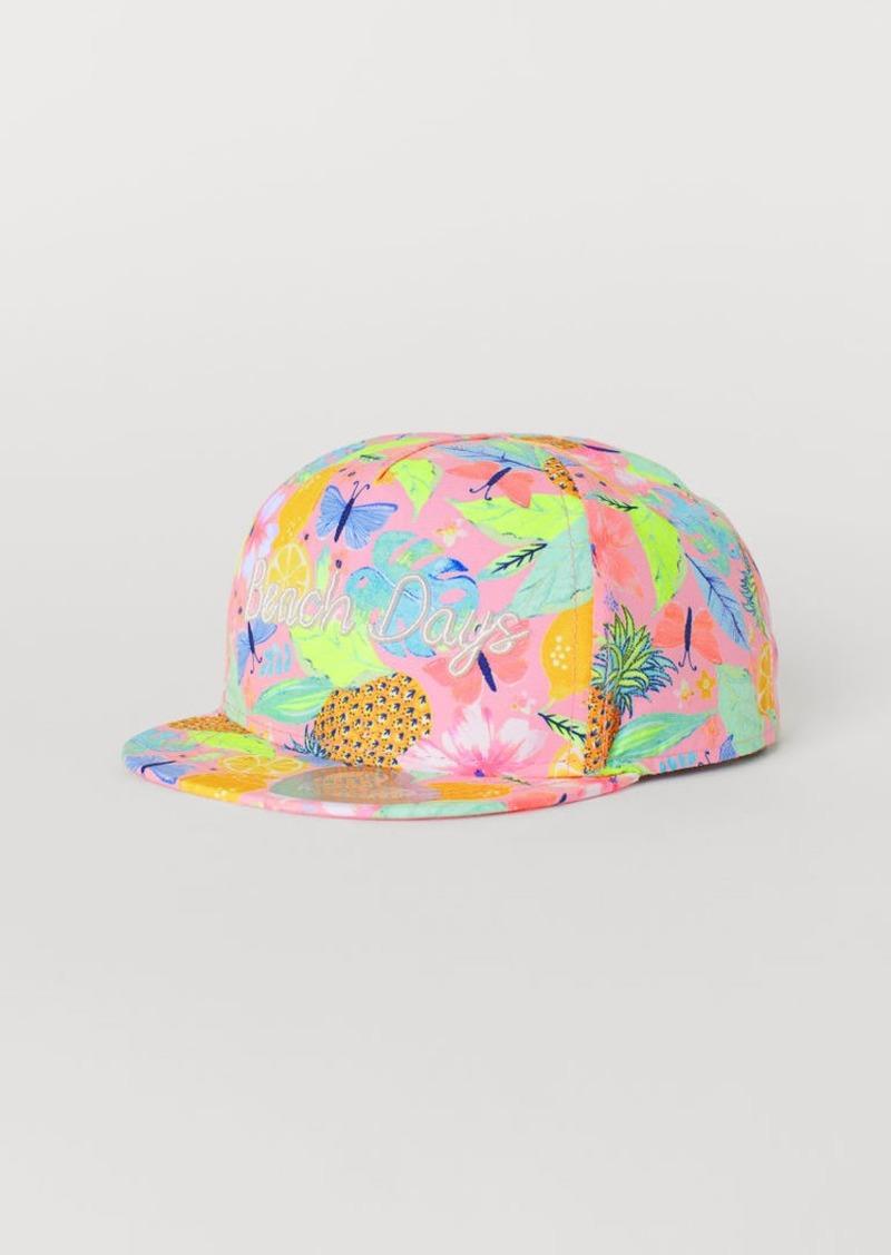 H&M H & M - Cap with Motif - Pink
