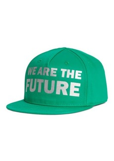 H&M H & M - Cap with Printed Design - Green