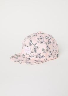 H&M H & M - Cap with Printed Design - Pink