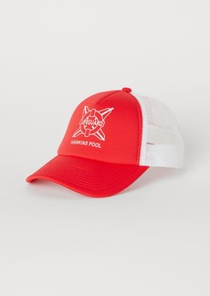 H&M H & M - Cap with Printed Design - Red