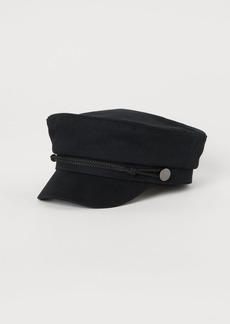 H&M H & M - Captain's Cap - Black
