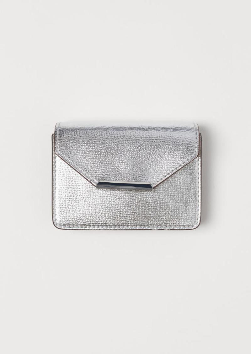 H&M H & M - Card Case - Silver