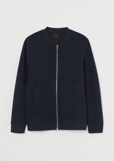 H&M H & M - Cardigan with Zip - Blue