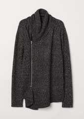 H&M H & M - Cardigan with Zip - Gray