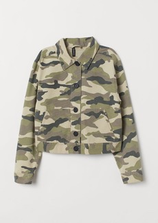 H&M H & M - Cargo Jacket - Gray