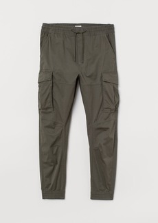 H&M H & M - Cargo Joggers - Green