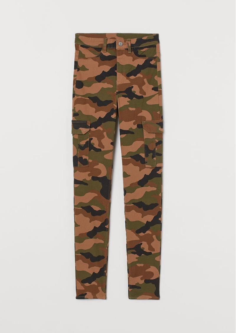 H&M H & M - Cargo Pants - Beige