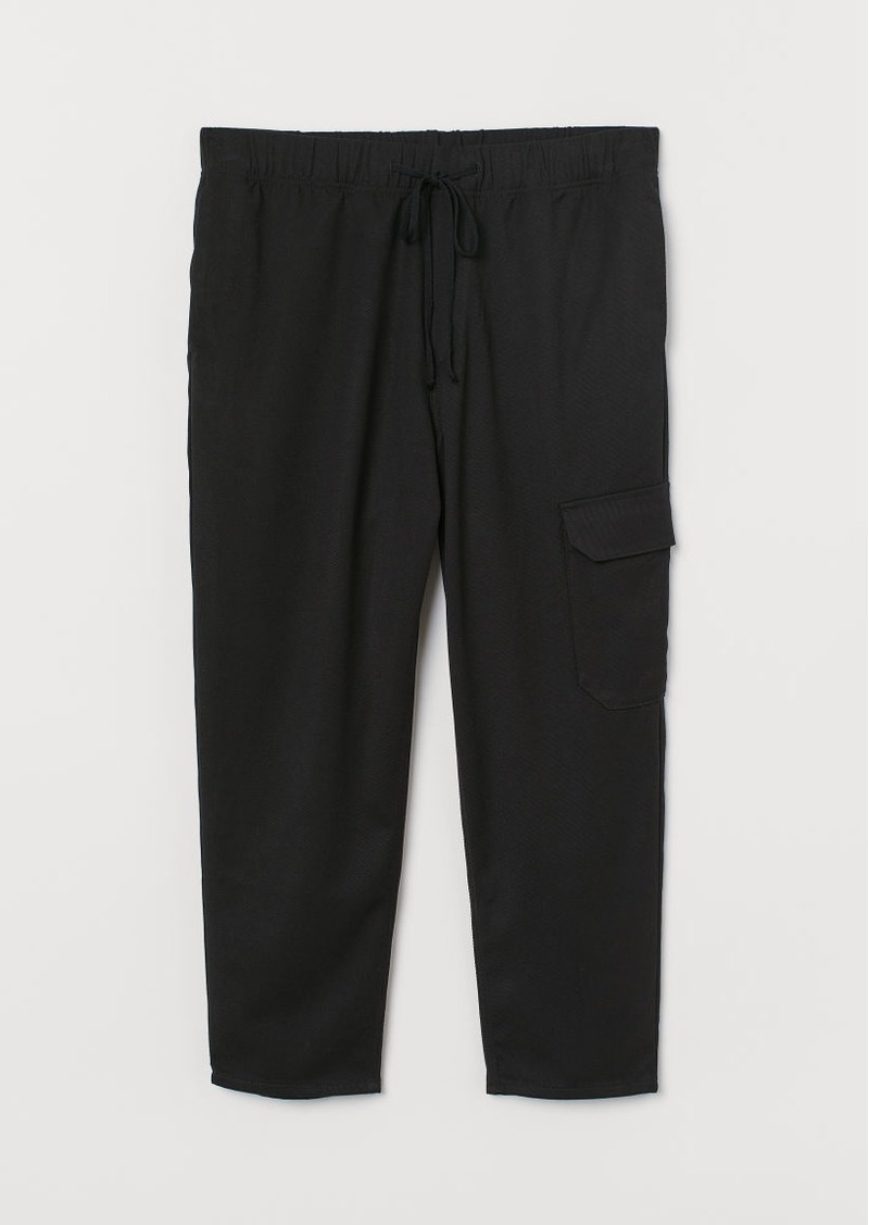 H&M H & M - Cargo Pants - Black