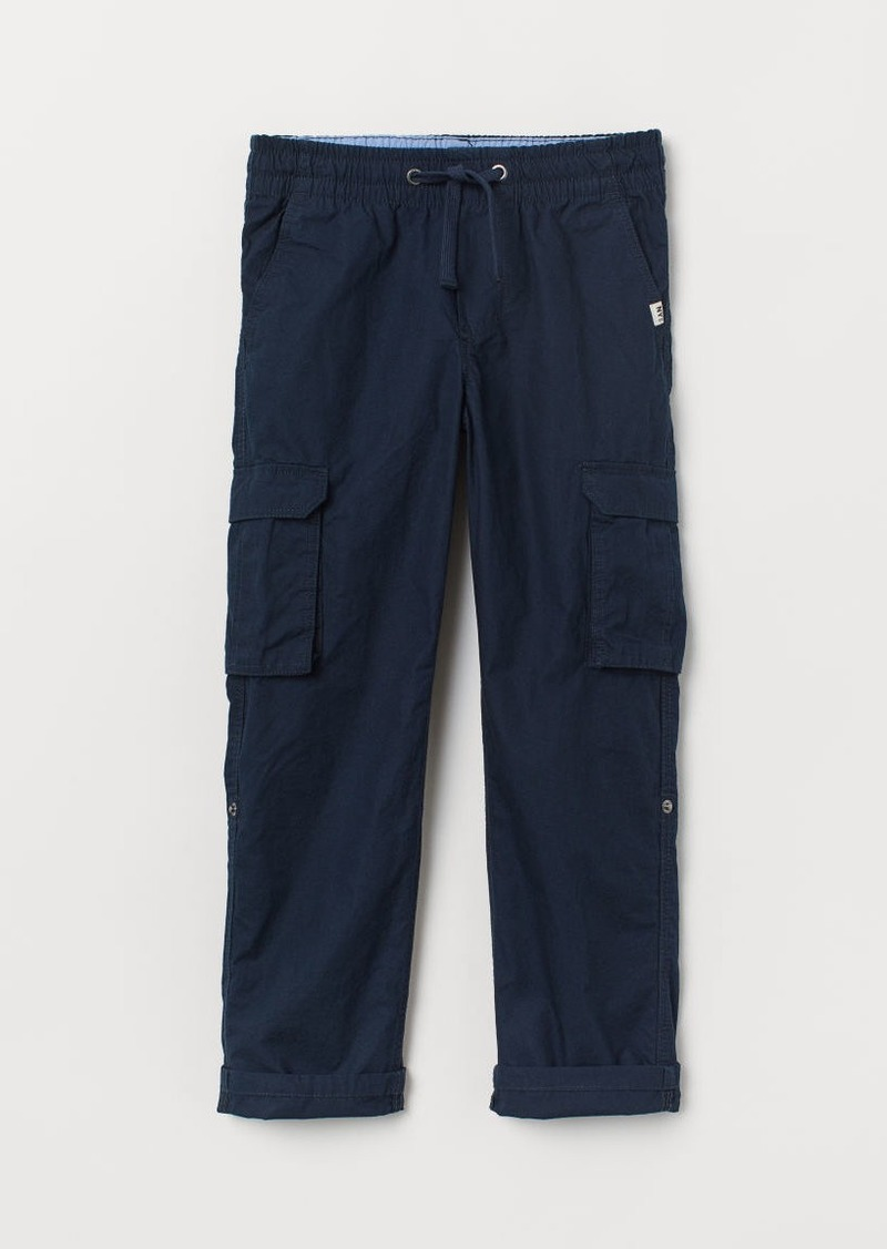 H&M H & M - Cargo Pants - Blue