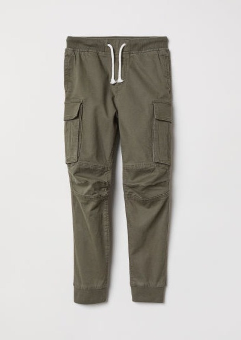H&M H & M - Cargo Pants - Green