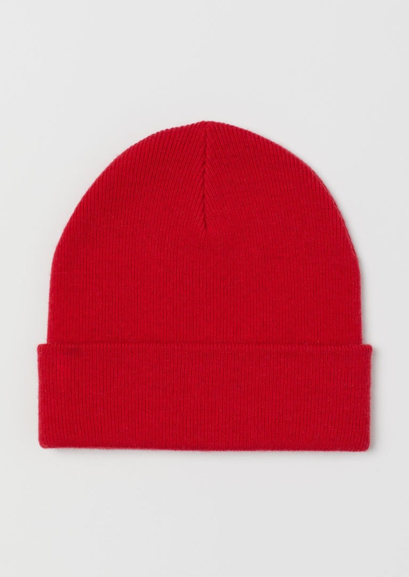 H&M H & M - Cashmere-blend Hat - Red