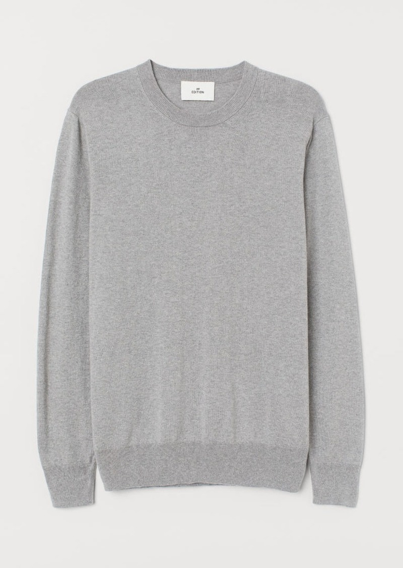 H&M H & M - Cashmere-blend Sweater - Gray
